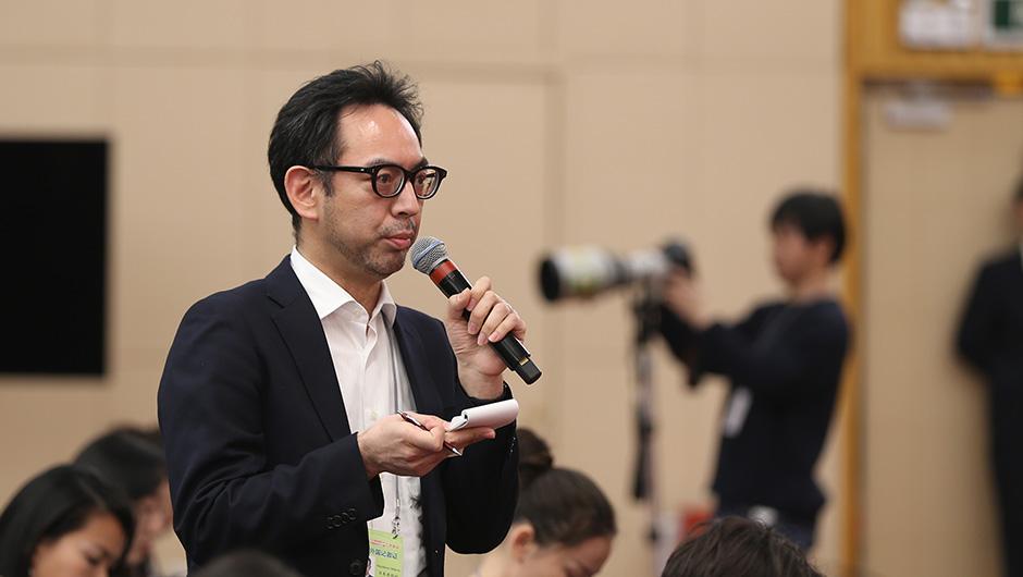日本共同社記者提問
