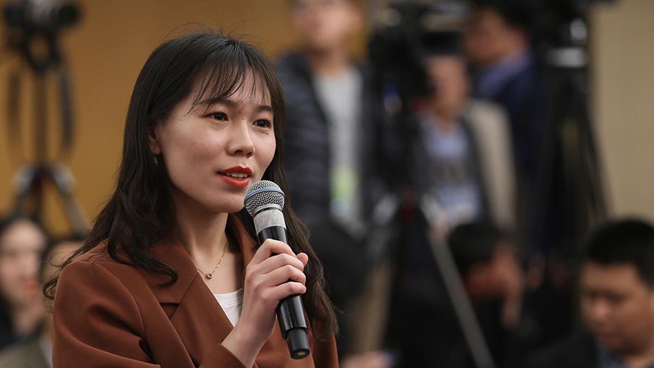 中國外文局中國網記者提問