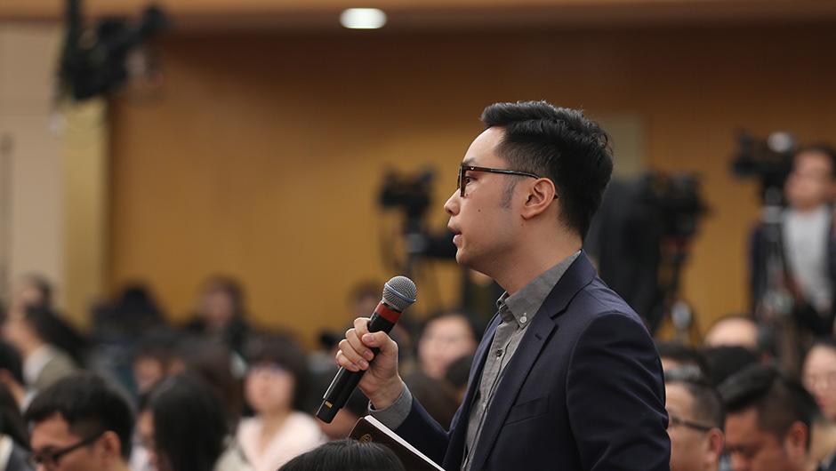 中國新聞社記者提問
