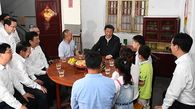 習近平在江西考察並主持召開推動中部地區崛起工作座談會