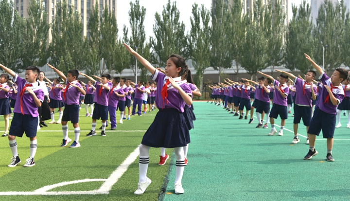 奔跑吧,少年!体育让孩子们插上强壮的翅膀