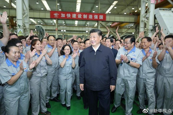 習近平:一定要把我國制造業搞上去