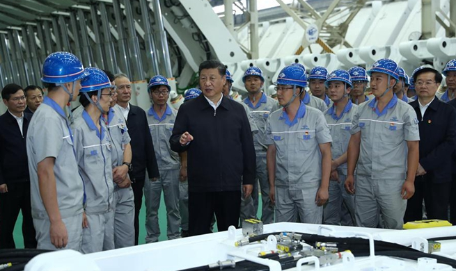 Xi stresses confidence, hard work in central China inspection