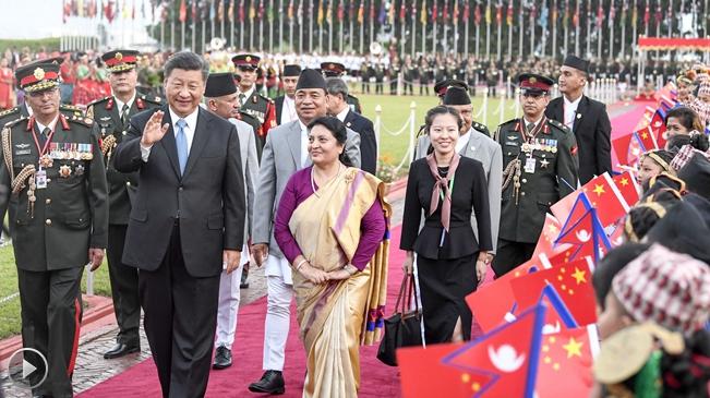 第1視點|習近平訪問尼泊爾 共同書寫兩國關係新的未來
