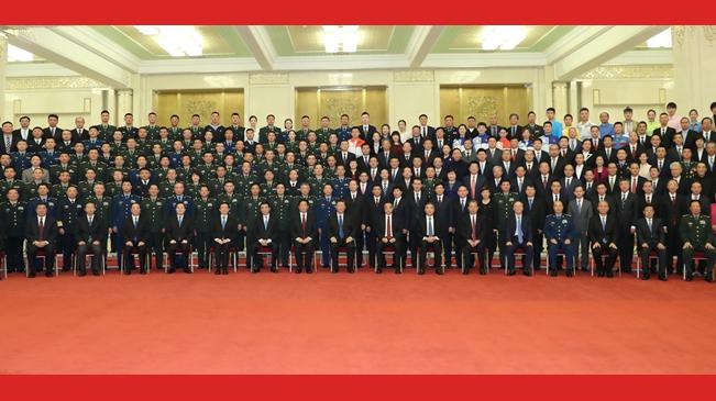 習近平親切會見中華人民共和國成立70周年慶祝活動籌辦工作有關方面代表