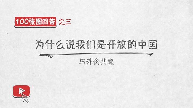 與外資共贏——100張圖回答,為什麼説我們是開放的中國