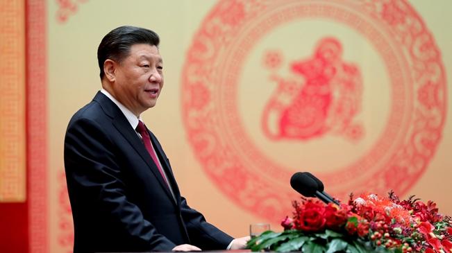 中共中央國務院舉行春節團拜會