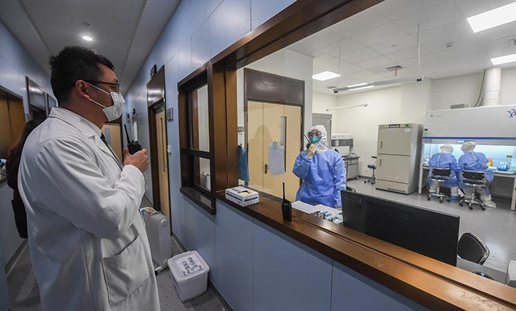 新華社評論員:用科學的力量戰勝疫病