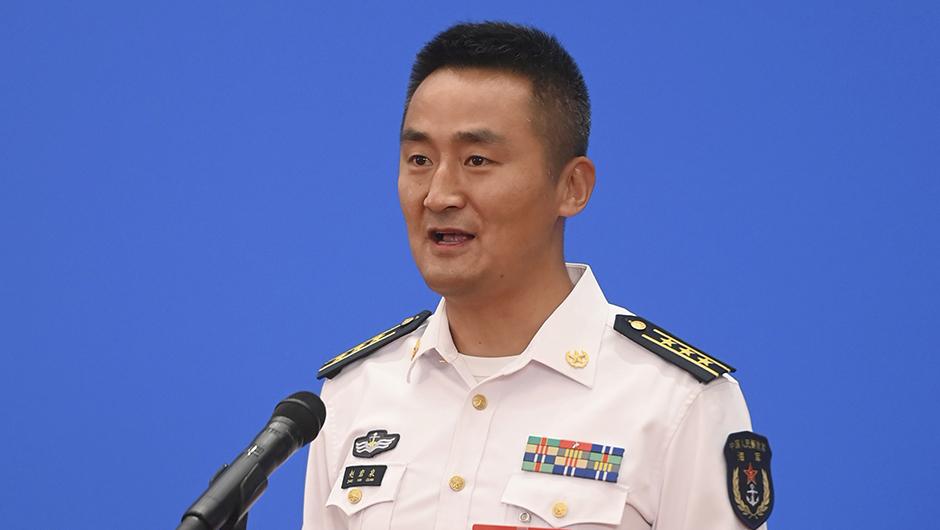 全國人大代表趙岩泉通過網絡視頻方式接受採訪