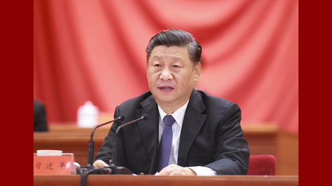 習近平出席紀念中國人民志願軍抗美援朝出國作戰70周年大會並發表重要講話