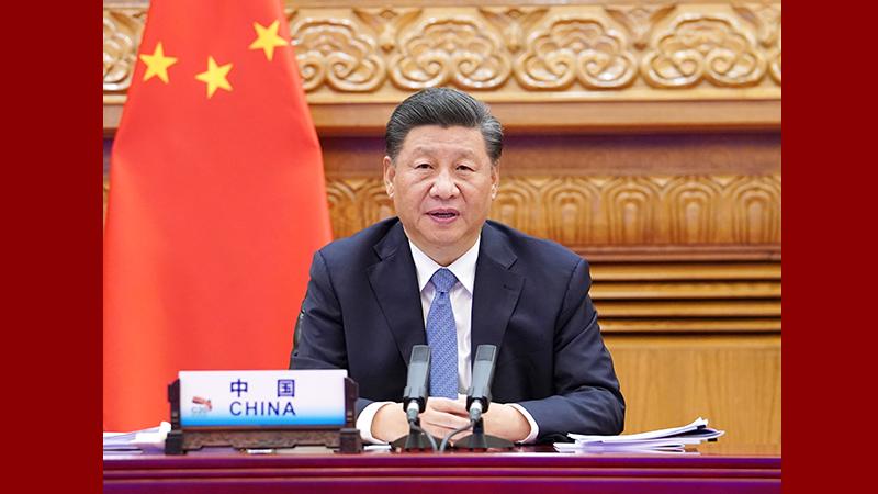 習近平出席二十國集團領導人第十五次峰會第一階段會議並發表重要講話