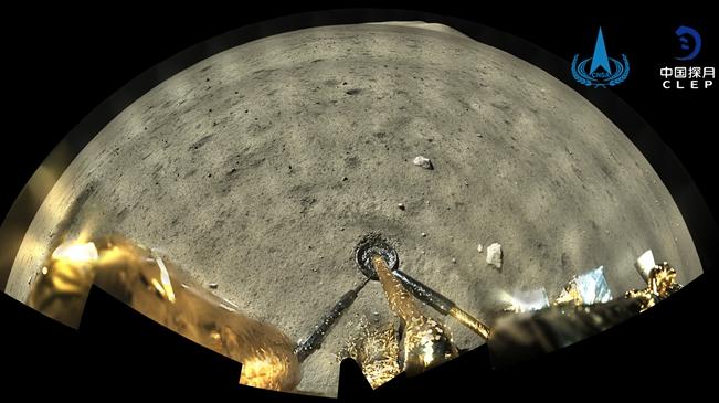 第一視角看月球!嫦娥五號環拍成像