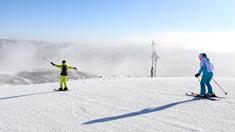 河北張家口:無懼嚴寒 樂享滑雪
