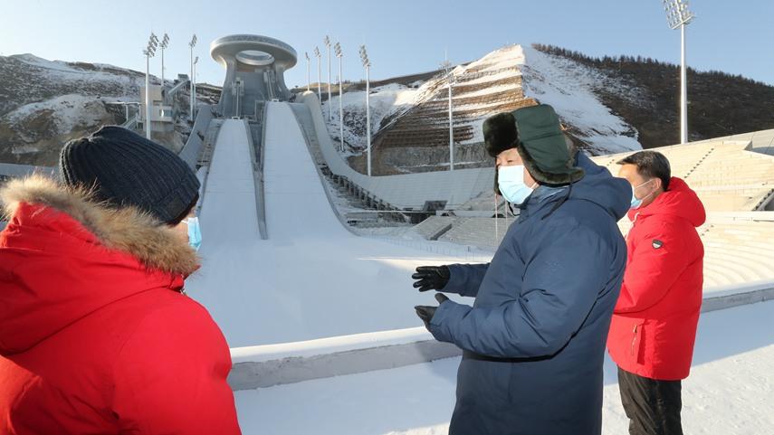 習近平:全力做好北京冬奧會冬殘奧會籌辦工作