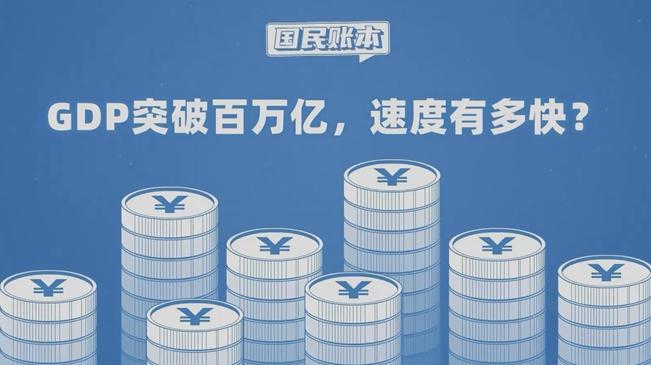 新華全媒+丨GDP突破百萬億 速度有多快?