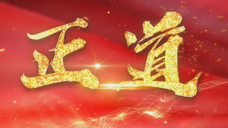 新華全媒+丨建黨百年微視頻:正道