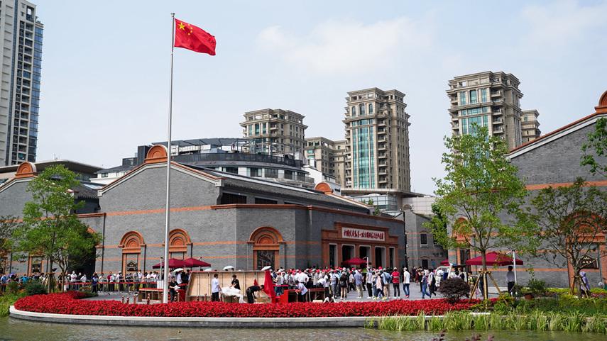上海市中國共産黨一大·二大·四大紀念館景區確定為國家5A級旅遊景區