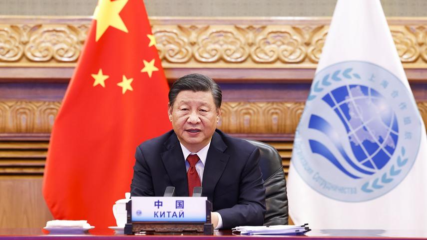 习近平出席上合组织和集安组织成员国领导人阿富汗问题联合峰会