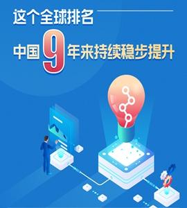 這個全球排名,中國9年來持續穩步提升