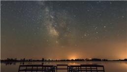 飛馬當空,銀河斜挂……深秋星空有多美?