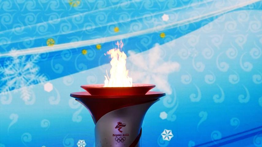 北京冬奧火種抵達北京