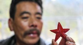 """五角星為何是這個藏族小村的""""流行單品""""?"""