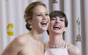 劉易斯和詹妮弗·勞倫斯分獲最佳男女主角