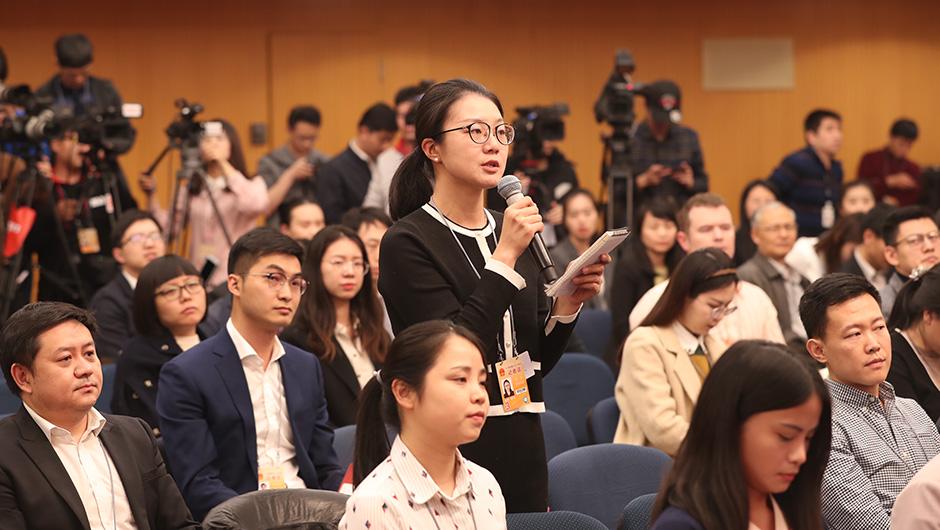 中國日報記者提問
