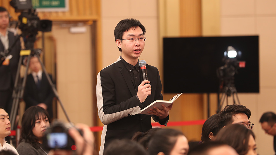 中央廣播電視總臺國廣記者提問