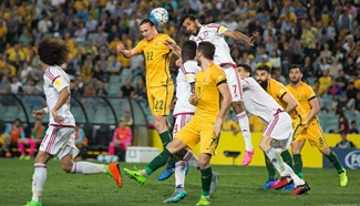 Australia beats UAE 2-0 at 2018 FIFA World Cup Russia qualification match