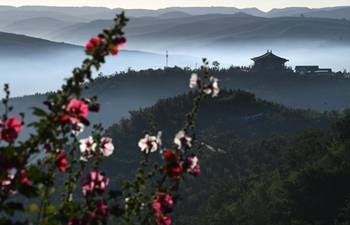 In pics: cloud and mist scenery in NW China