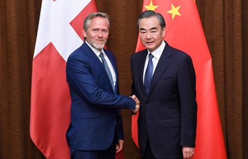 Chinese State Councilor holds talks with Danish FM