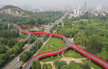 "First phase of ""green road"" project enters trial operation in Tangshan"