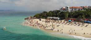 海南:冬季旅遊熱