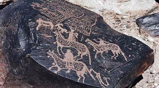內蒙古西部發現172幅古代岩畫