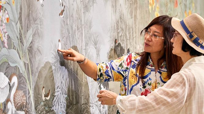 體味精微細致之美——兩岸工筆畫家在臺聯展精品畫作