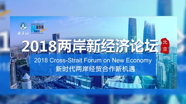 2018兩岸新經濟論壇在京舉行
