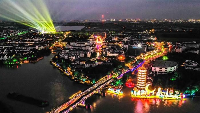 2021海峽兩岸(昆山)中秋燈會揭幕