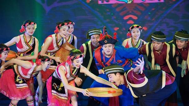 畬族歌舞和閩劇走進臺灣校園