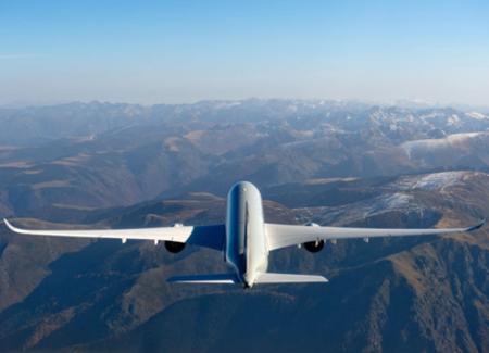 空客首架a350xwb宽体飞机