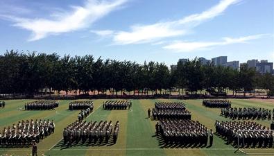 大學第一課——全景體驗大學新生軍訓
