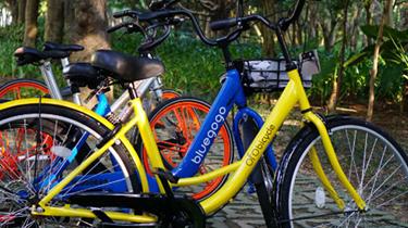 自行車也是一種時尚選擇