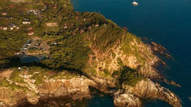 無人機之旅 大鵬半島 4珊瑚群 愛上深圳的航拍在這兒