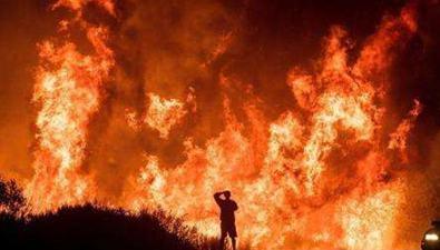 美加州山火成該州歷史上第三大山火