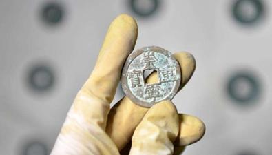 河北發現400余公斤古錢幣