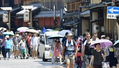 日本高溫死亡人數增加