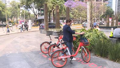 共享單車為墨西哥民眾提供便利