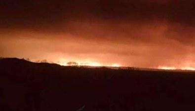 中俄邊境俄方境內發生森林火災