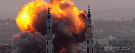 巴以地區:加沙地帶巴以衝突仍在持續