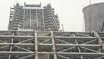 北京:大跳臺冬奧場地完成主體結構搭建